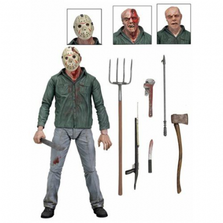 NECA Friday the 13th Part 3 Action Figure Ultimate Jason